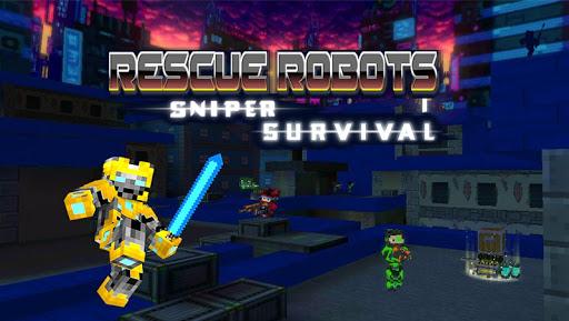 Code Triche Rescue Robots Sniper Survival APK MOD screenshots 1