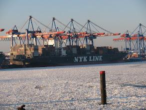 Photo: NYK Oceanus (Länge: 336.0m; Breite 46.0m)