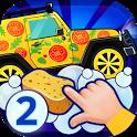 Car repair garage games icon