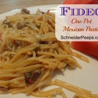 Fideo {aka Mexican Pasta}