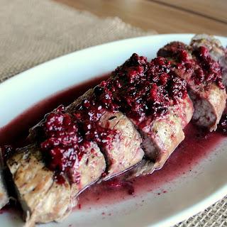 Pork Tenderloin With Blackberry Sauce Recipes.