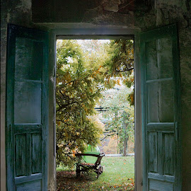 door by Tomaž Lipovec - Buildings & Architecture Decaying & Abandoned ( old, outdoor, door, house, abandoned )