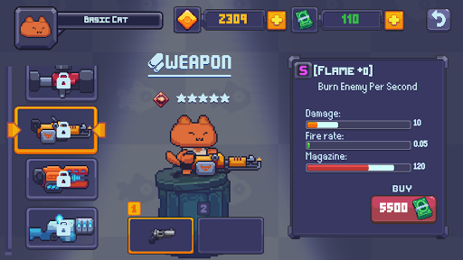 Cat Gunner: Super Zombie Shooter Pixel filehippodl screenshot 5