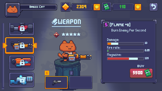 Game Cat Gunner: Super Force (Pixel Zombie Shooter) APK for Windows Phone