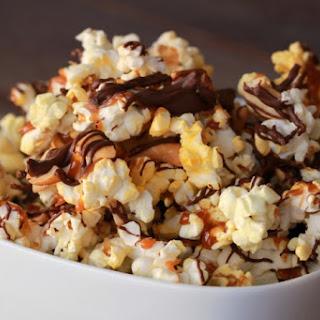 Chocolate Caramel Crunch Popcorn