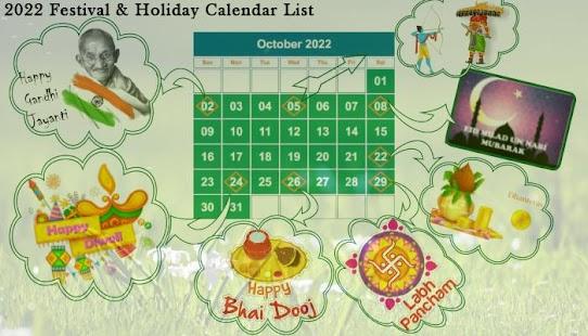 Calendar 2018-2022 - náhled