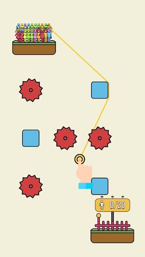Rope Rescue! - Unique Puzzle 0.9.1 screenshots 2