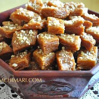 Korean Honey Pastry (Yakgwa or Yakwa).