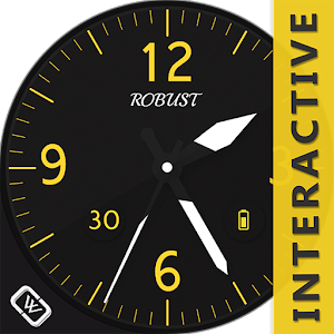 Robust Watch Face download