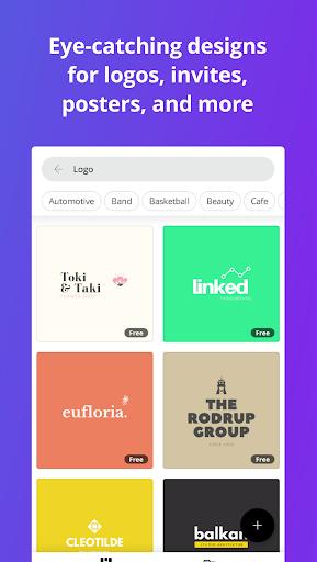Canva: Graphic Design, Video, Invite & Logo Maker apkmr screenshots 4