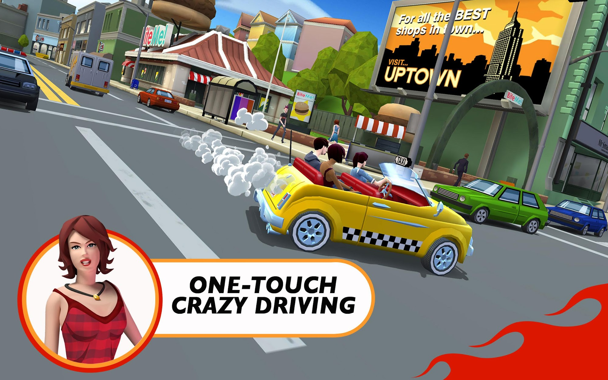 Crazy Taxi™ City Rush screenshot #11