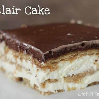 Here's A Special No Bake Chocolate Eclair Cake