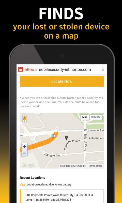 Norton Security and Antivirus- screenshot