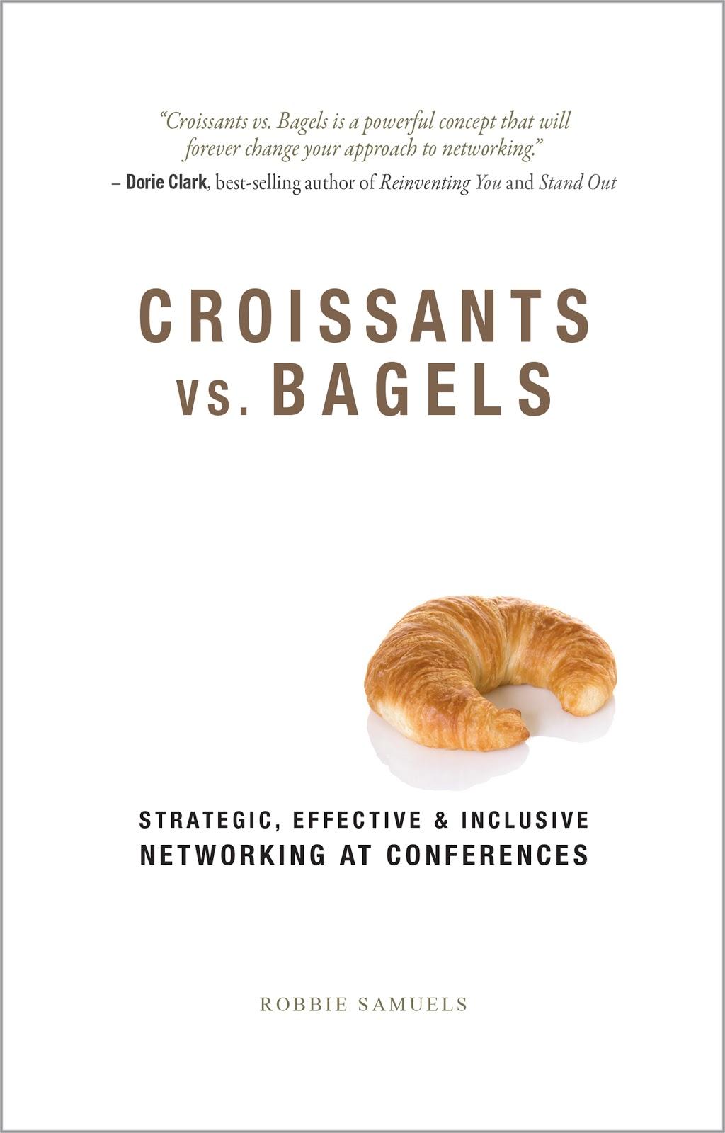 """""""Croissants vs. Bagels"""" book"""