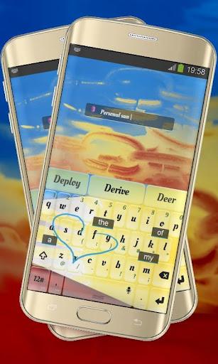 個人化必備免費app推薦|明亮的黄色太阳 TouchPal線上免付費app下載|3C達人阿輝的APP