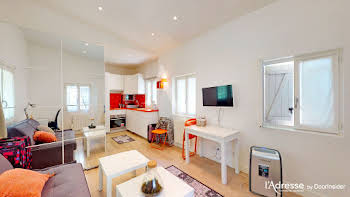 Studio meublé 20,96 m2