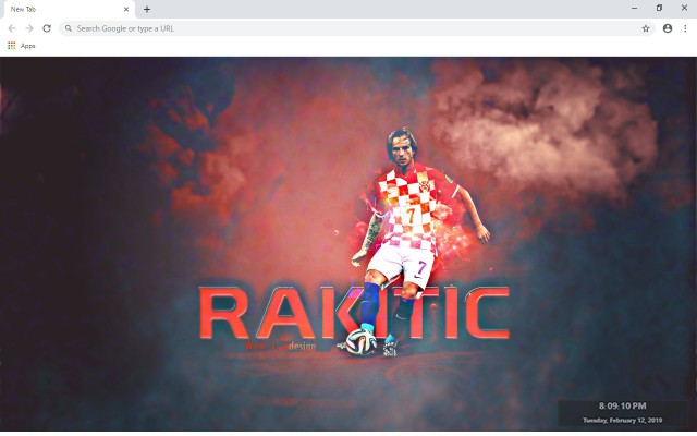 Ivan Rakitic New Tab & Wallpapers Collection