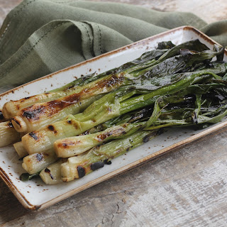Grilled Green Onions.