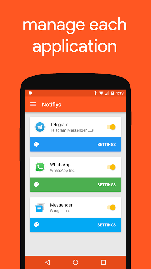 Notifly- screenshot