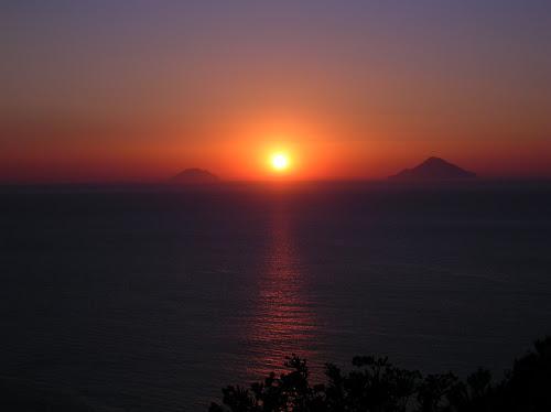 tramonto da Vulcano di Gianluk