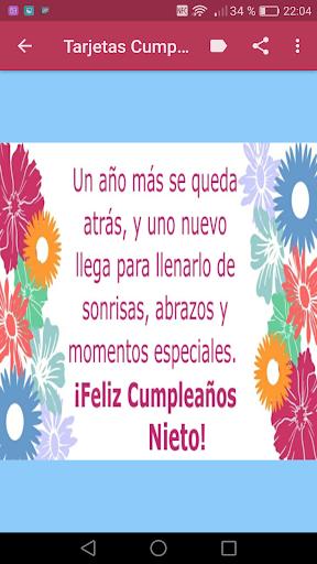 Feliz Cumpleaños Nieto додатки в Google Play