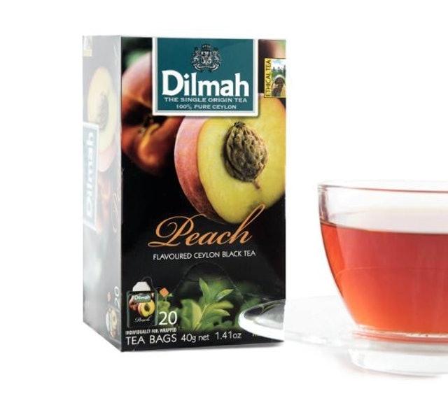 5. ชาพีช Dilmah Peach Flavoured Tea