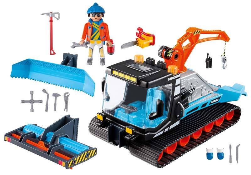 Contenido real de Playmobil® 9500 Quitanieves