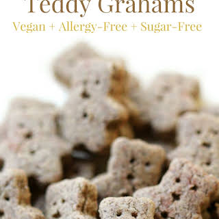 Homemade Gluten-Free Teddy Grahams (Vegan, Allergy-Free).