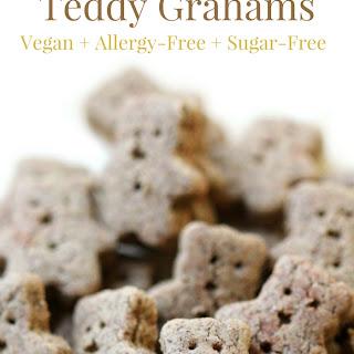 Homemade Gluten-Free Teddy Grahams (Vegan, Allergy-Free).