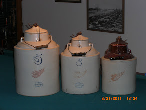 Photo: Red Wing Apple Sauce Jars, 5,,3,,2,,Gallon