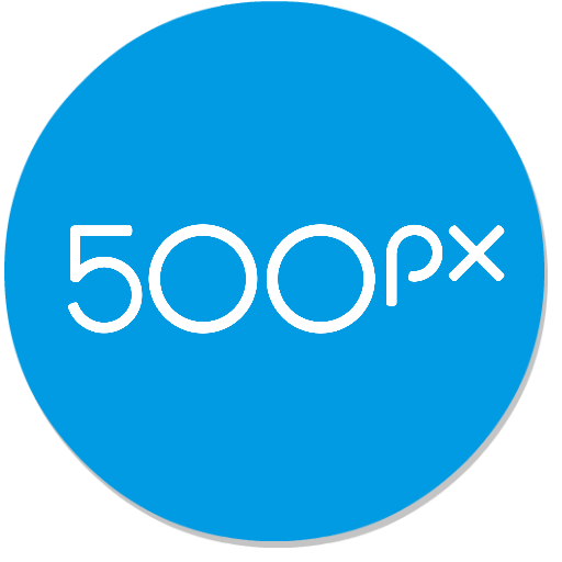 500px – Discover great photos icon