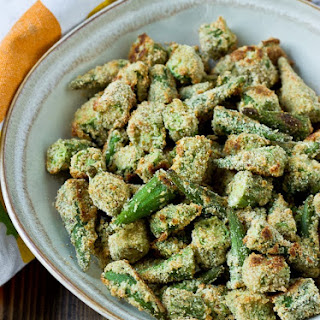 "Oven ""Fried"" Okra."