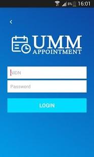 UMM Appointment - náhled