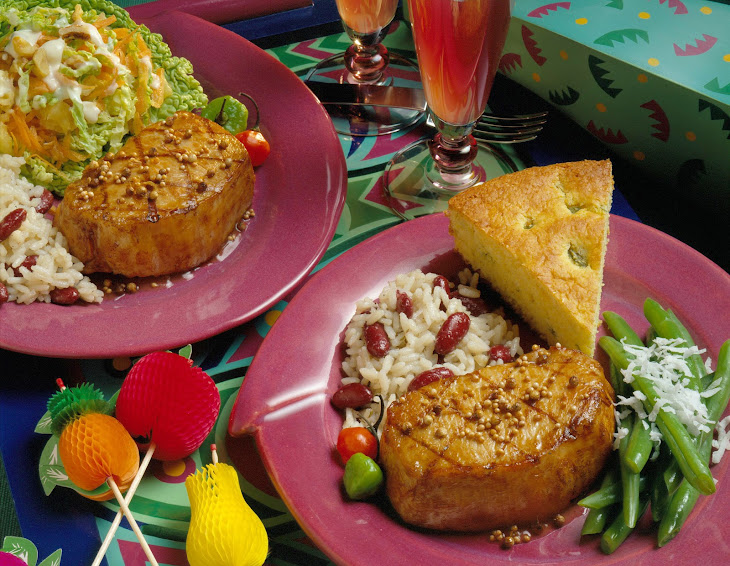 Calypso Pork Chops Recipe