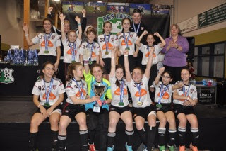 Photo: F12A Gold medal at the 2016 indoor Laval Tournament