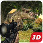 Dino Sniper Hunting: Jungle 3D Icon