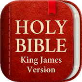 King James Bible (KJV) - Free Bible Verses + Audio icon