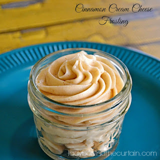 Cinnamon Cream Cheese Frosting.