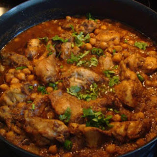 Chicken Curry with Chickpeas (Chole)