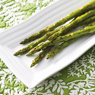 Spicy Grilled Asparagus.
