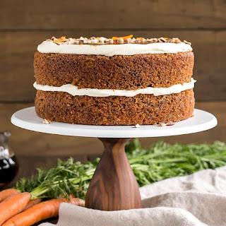 Maple Caramel Carrot Cake.