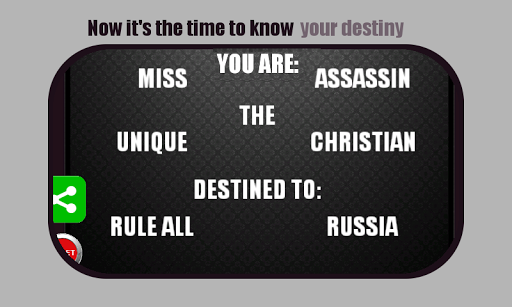 Know Your Destiny