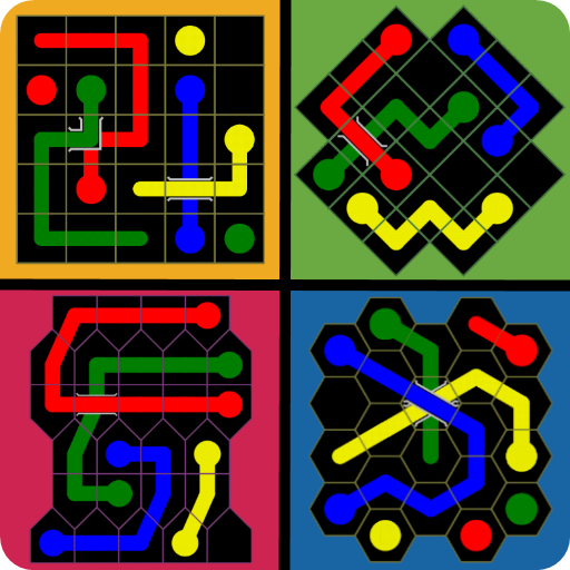 Connect The Dots - Mega Shapes : Color Pipe Lines (game)