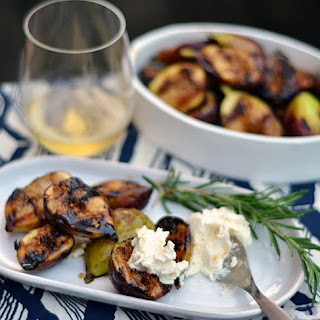 Grilled Figs with Honeyed Mascarpone.