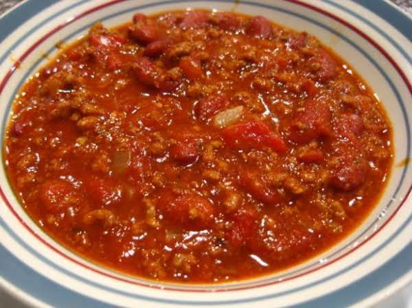 Santas Chili Recipe