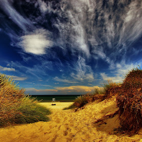 The Beach View! by Olaf Pohling - Instagram & Mobile Other ( sand, olaf pohling, sea, nice, denmark, view, beach, sun )