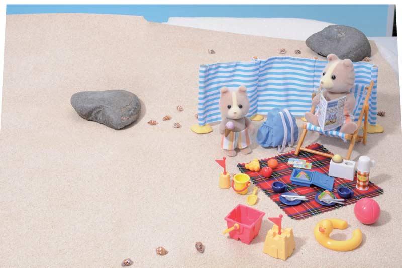 Contenido Real de Día en la Playa