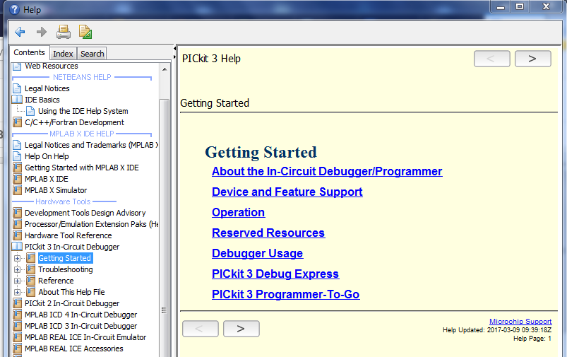 Microchip PICkit™ 3 In-Circuit Debugger Program    | element14