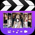 Photo video maker - Movie maker + slideshow maker icon