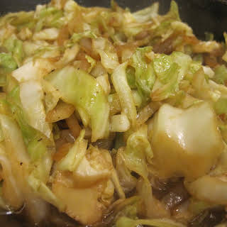 Stir Fried Cabbage.